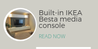 DIY Project: IKEA Besta media console