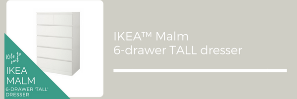 Styl-Panels to suit IKEA Malm 6-drawer tall dressers
