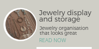DIY Project: Jewellery display and organisation