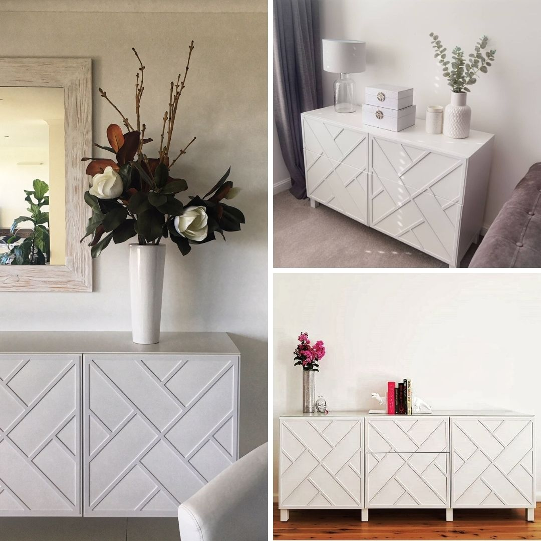 Styling your furniture helps to convey the mood