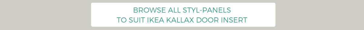 Browse Styl-Panels to suit IKEA Kallax door inserts