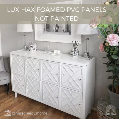 Example of Lux Hax white paintable FPVC Styl-Panels