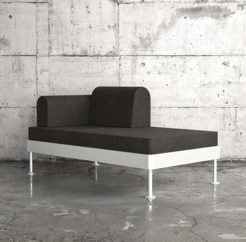 Ikea's new hackable Delaktig sofa bed