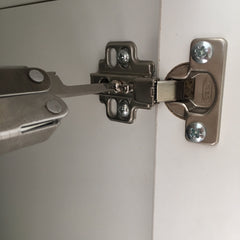 Adjust the hinges to ensure that your Kallax door opens properly