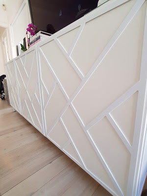 Styl-Panel 1121 to suit IKEA Besta furniture