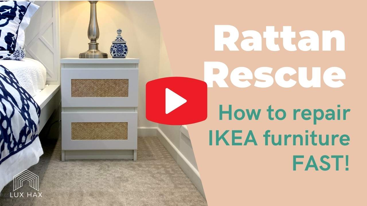 Watch the video: How to repair IKEA furniture fast