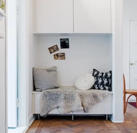 IKEA BESTA hack reading nook