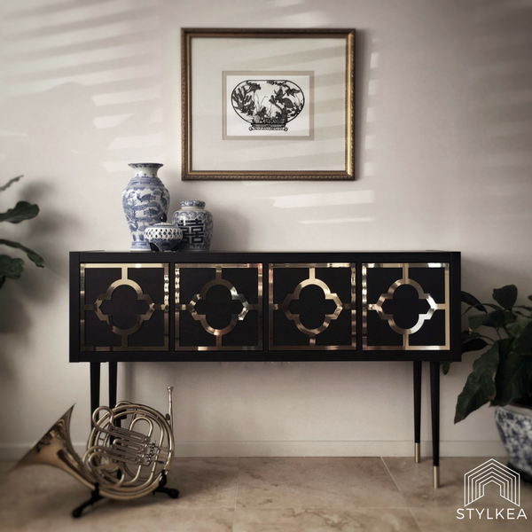 IKEA hack time! IKEA Kallax credenza or sideboard