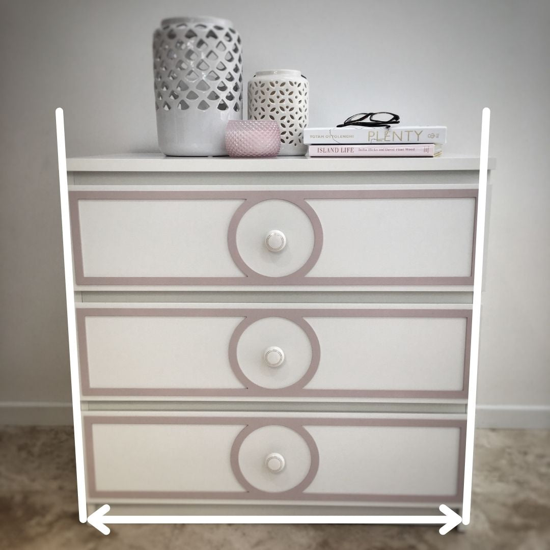 Example of distortion perspective in furniture photography