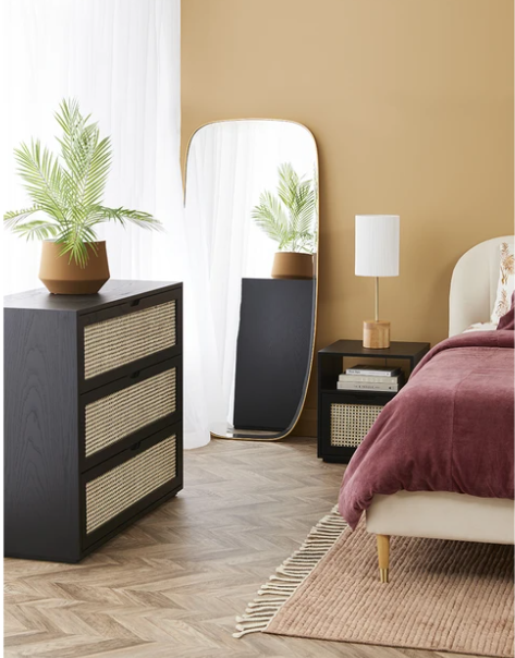 Rattan furniture is on-trend
