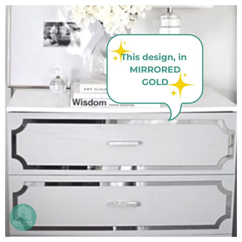 Styl-Panel Kit: #1124 to suit IKEA Malm chest *GOLD SHELF STOCK*