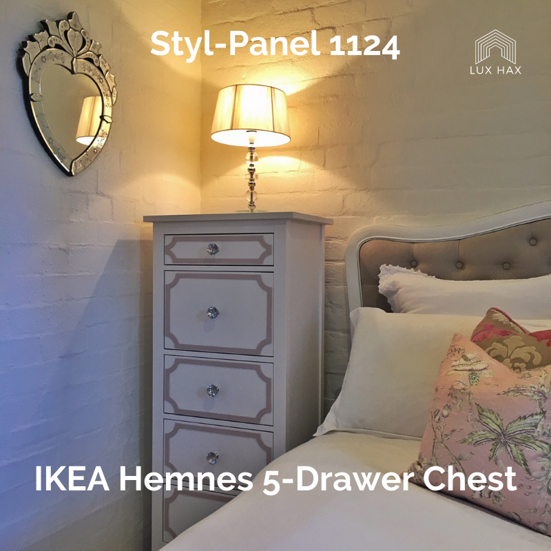 Styl-Panel 1124 to suit IKEA Hemnes 5-Drawer Chest