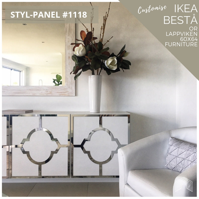 Styl-Panel #1118 to suit IKEA Besta 60x64 furniture