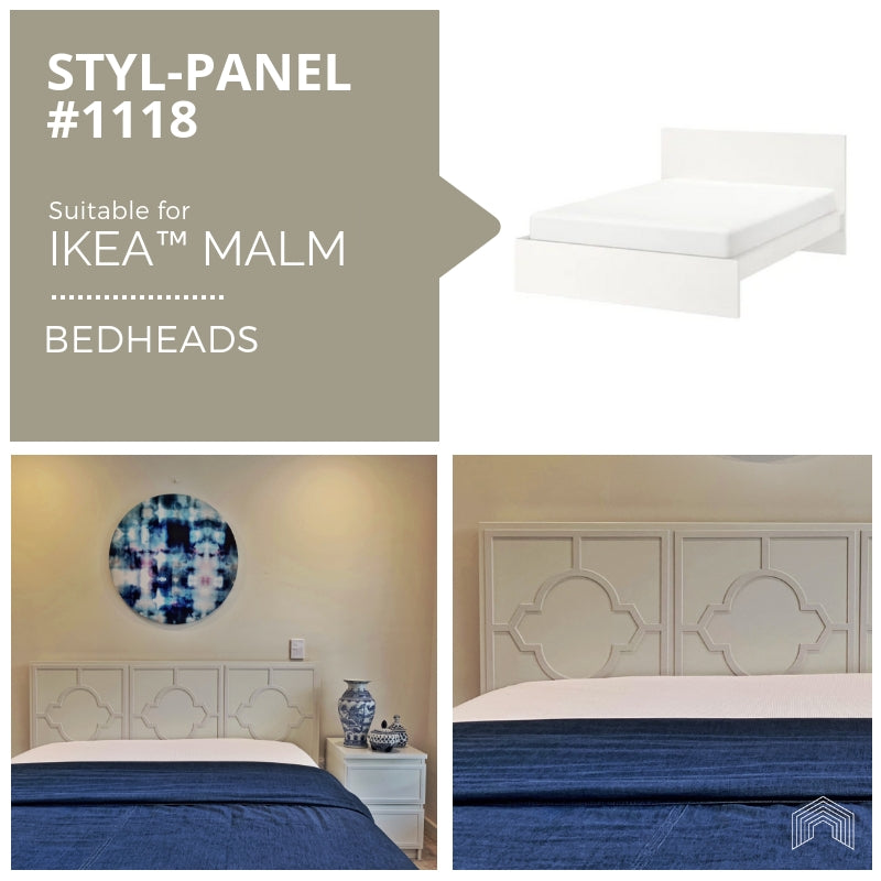 Styl-Panel Kit: #1118 to suit IKEA MALM bedheads