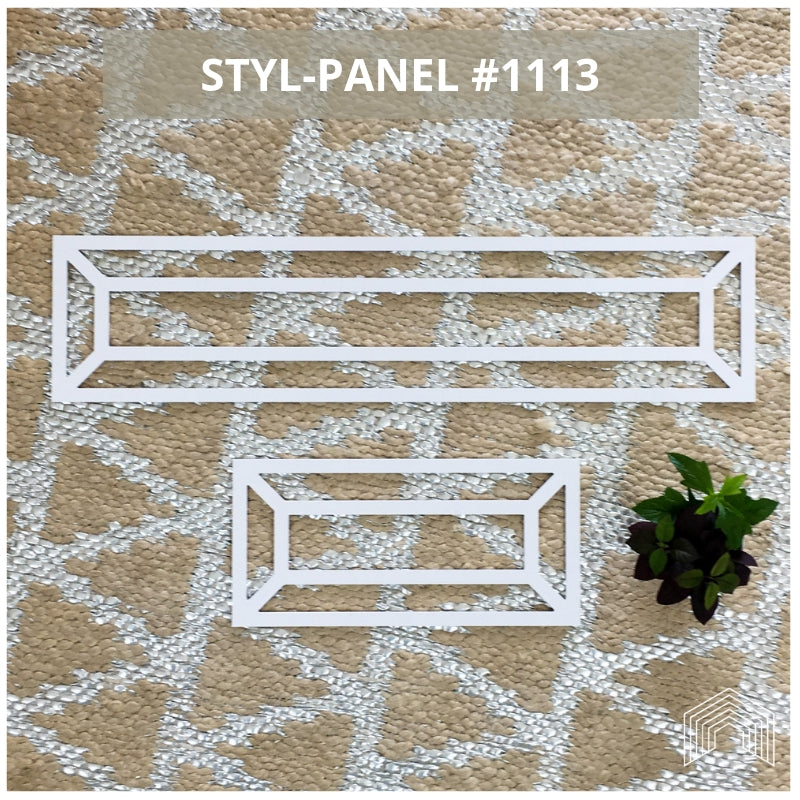 Styl-Panel Kit: #1113 to suit IKEA Malm 2-drawer bedside table
