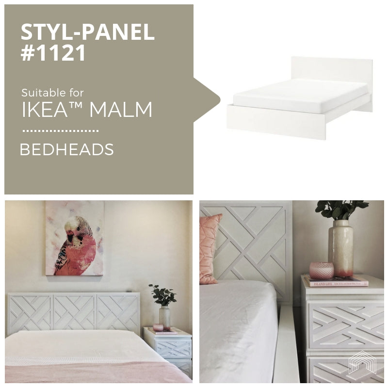Styl-Panel Kit: #1121 to suit IKEA MALM bedheads