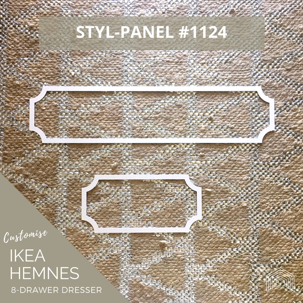 Styl-Panel Kit: #1124 to suit IKEA Hemnes 8-drawer dresser