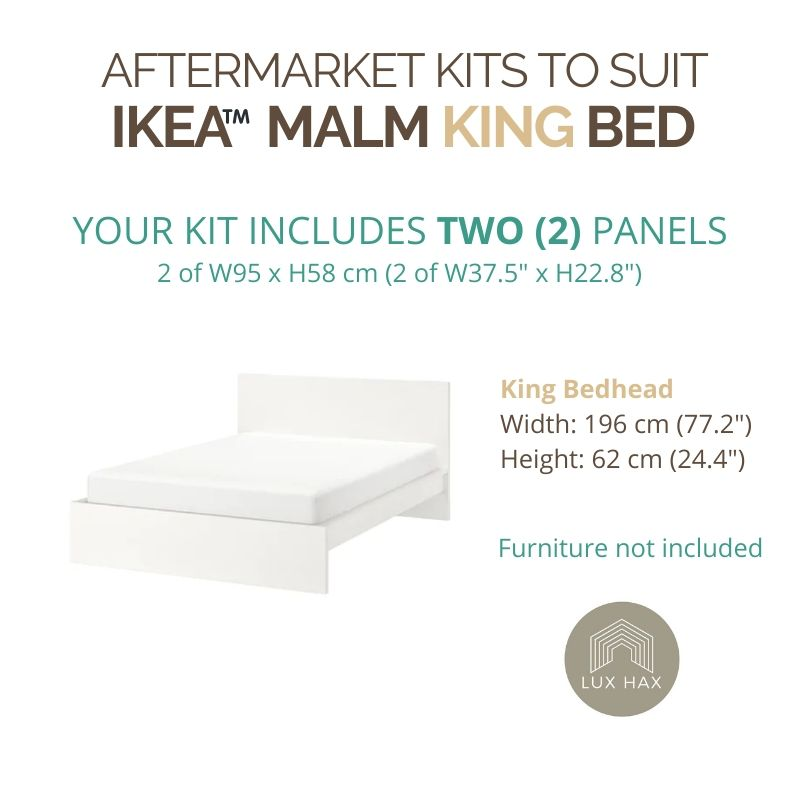 Styl-Panel Kit: #1141 to Suit IKEA MALM Bedheads