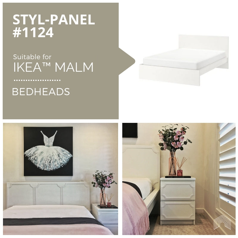 Styl-Panel Kit: #1124 to suit IKEA MALM bedheads
