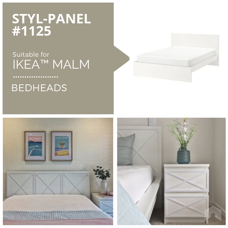 Styl-Panel Kit: #1125 to suit IKEA MALM bedheads