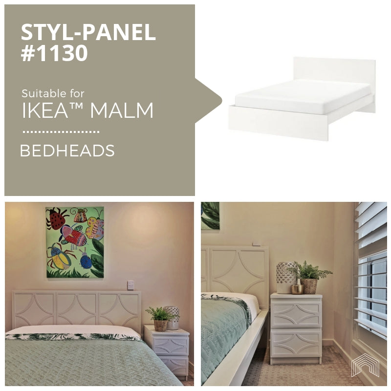 Styl-Panel Kit: #1130 to suit IKEA MALM bedheads