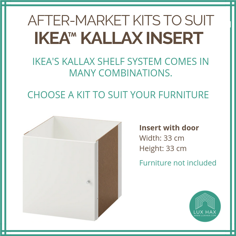 Styl-Panel Kit: #1118 to suit IKEA Kallax