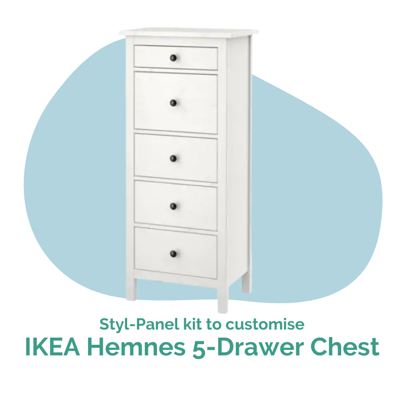 Styl-Panels to suit IKEA Hemnes 5-Drawer Chest