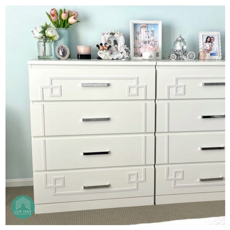 Styl-Panel Kit: #1147 to suit IKEA Malm 3 or 4-drawer chest or 6-drawer WIDE chest
