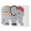 Elephant pegboard for 10mm artkal fuse beads  XP05