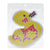 Duck pegboard for 10mm artkal fuse beads  XP03