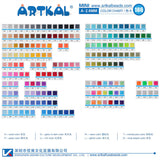 71 bags NEW color set A-2.6mm Artkal Mini beads (AB1000-N)