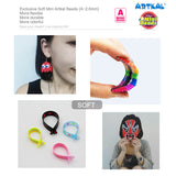 157 Colors Full Solid Colors Set Mini A-2.6mm SOTF Artkal Beads 1000pcs/bag AB1000-FS