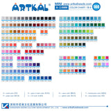 (A01-A50) A-2.6mm 2000P single pack mini artkal beads