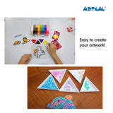Artkal Triangle Tray Set