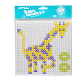Artkalbeads 5mm Clear Large Square Pegboard  BP01-K
