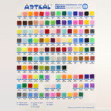 10 Bags 1000 Count Pack Midi R-5mm Artkal Beads RB1000-10B