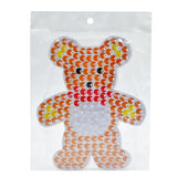 Bear pegboard for 10mm artkal fuse beads  XP08