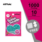 10 Bags Mini A-2.6mm SOTF Artkal beads 1000pcs/bag AB1000-10