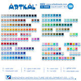 158 Bags Full Solid Colors Set 1000 Count Pack Midi S-5mm (SB1000-FS)