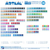 (A101-A157) A-2.6mm 2000P single pack mini artkal beads