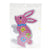 Rabbit pegboard for 10mm artkal fuse beads  XP02