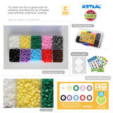10 Colors Box Set C-2.6mm Mini Artkal beads CC10