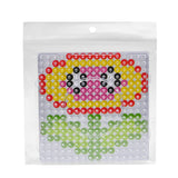 Square pegboard for 10mm artkal fuse beads  XP01-K