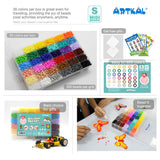 36 Color Box Set S-5mm Midi Artkal beads CS36