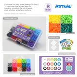 15 Colors Box Set R-5mm Midi Artkal soft beads CR15