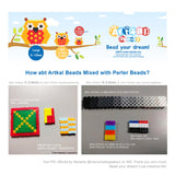CM10 Artkal mini beads 10 colors box set