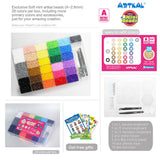 28 Colors Box Set With Pegboards CA28