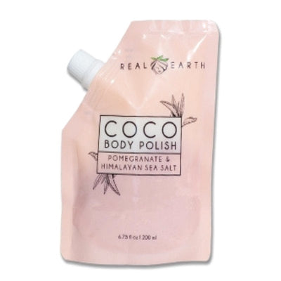 Coco Body Polish | Cool and Refreshing - Real Earth - Body Scrub