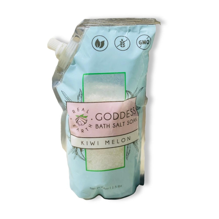Goddess Bath Salt Soak | Cool and Refreshing - Real Earth - Espom Salts