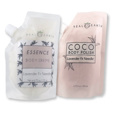 Perfect Duo | Creme and Polish Set - Real Earth - Set